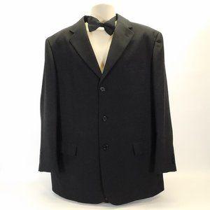 Men's Fortino Landi Black Dress Jacket CL3116 0420